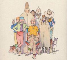 Despedida a Jean Giraud (de un dibujante cualquiera)