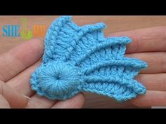 ▶ Easy to Crochet Wing Tutorial 10 Part 2 of 2 Reverse Single Crochet - YouTube