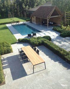 Backyard Pool Designs, Swimming Pool Designs, Pool Landscaping, Patio Design, Outdoor Pool, Outdoor Spaces, Outdoor Gardens, Outdoor Living, Outdoor Decor