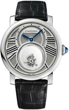 Rotonde de Cartier Mysterious Double Tourbillon Watch