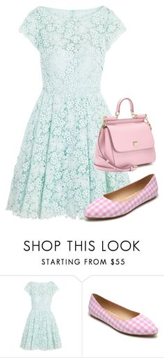 """""""Untitled #1041"""" by bellatrix87 ❤ liked on Polyvore featuring ML Monique Lhuillier, Penny Loves Kenny and Dolce&Gabbana"""