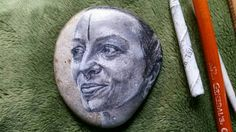 Custom Ocean Stone Portraits by pushingcharcoal on Etsy