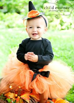 lil punkie witch costume tutu set by strawberrierose on etsy 4995 - Baby Witch Costumes Halloween
