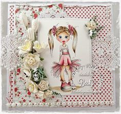 Brand New CLEAR Stamps From Little Darlings Rubber Stamps