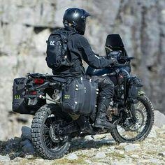 Let's go on a adventure Moto Enduro, Enduro Motorcycle, Motorcycle Camping, Motorcycle Style, Motorcycle Outfit, Scrambler, Himalayan Royal Enfield, Gs500, Honda Africa Twin