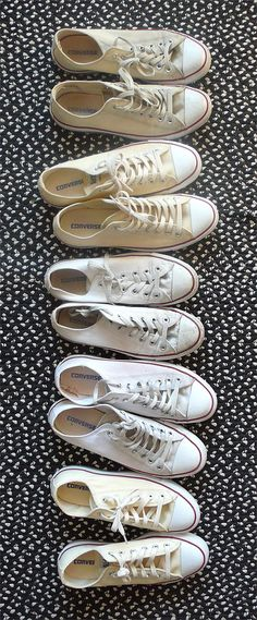 winter whites...the only sneakers I own so cute for boating or with white jeans, my daughter wears hers with long jersey skirts ...(thanks to Marilla McCupcake for talking me into buying them..) I lie, I have a pair of LAMB black leather too...not really a sneaker person.