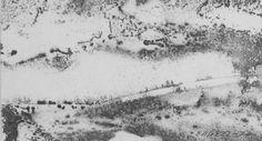 E. Besozzi pitt. 1971 Composizione china su cartoncino cm 7x12,3 arc. 867