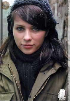Nora Tschirner. She's so gorgeous...
