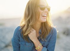 denim + a great pair of sunnies Photography by Bryce Covey Photography / brycecoveyphotography.com
