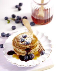 Vegane Dinkel-Pancakes