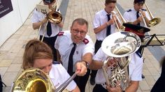 Bromley Temple Band with Major John Murray #selfie #salvationarmy #heilsarmee