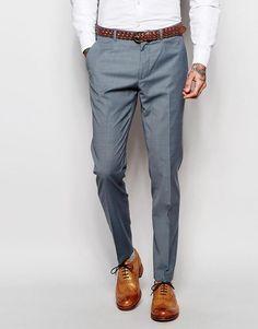ASOS | ASOS Wedding Skinny Suit Pants In Tonic at ASOS