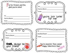 Candy grams, Valentines and Candy Valentine Day Crafts, Valentine Decorations, Happy Valentines Day, Teachers Room, Valentine Coloring Pages, Candy Grams, School Fundraisers, Love Days, Holiday Fun