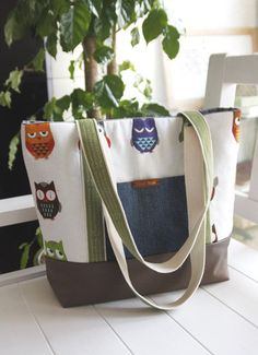 DIY Canvas Tote Bag ~