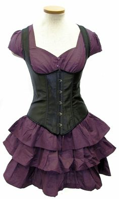 """""""Vertigo Set"""" dress by GoodGoth.com"""