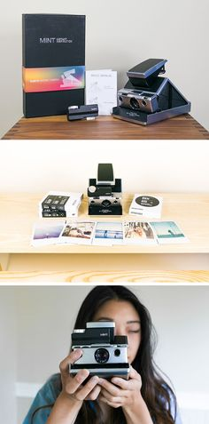 Introducing the SLR670m by MiNT! Snag yours today (6/22) and get free instant film, woot!