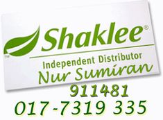 join us..shaklee no 1...the best