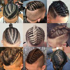 Men's Braids Pictures braids for men the man braid 2019 mens haircuts Men's Braids. Here is Men's Braids Pictures for you. Men's Braids 9 alluring two braided hairstyles for men trending in Men's Braids 55 hot brai. Boy Braids Hairstyles, African Hairstyles, Hairstyles Haircuts, Haircuts For Men, Party Hairstyles, Trendy Hairstyles, Long Haircuts, Braid Styles For Men, Short Hair Styles