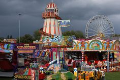Nottingham Goose Fair - I loved this when I was a kid!