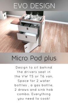 Micro pod plus – Car Collection Tiny Camper, Vw Camper, Minivan Camping, Camping Tips, Vw T1, Vw Transporter Camper, Nissan Vans, Airstream Trailers, Travel Trailers