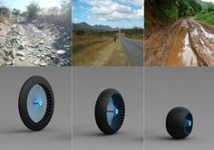 www.gizmeon.com : Roadless Wheel System is For All Terrains