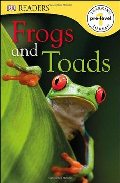 DK Readers L0: Frogs & Toads by Camilla Gersh