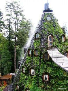 Hotel La Montana Magica   Huilo -Huilo Chile