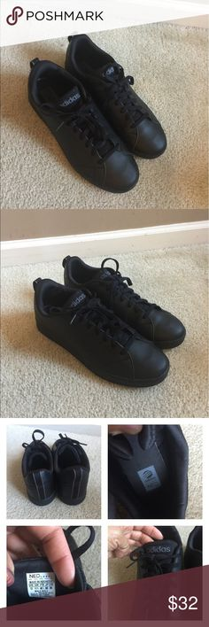 f69c8b465c9 Men Neo Adidas Mens Neo black on black clean advantage Adidas like New worn  once by my son. Reasonable offers are welcome 😊 adidas Shoes Sneakers