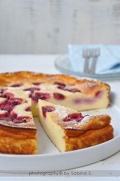 """Due bionde in cucina: """"Käsekuchen"""" cheesecake ai lamponi con cottura al forno"""