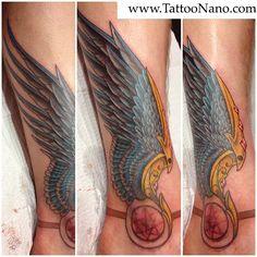 #hermes wing #tattoo