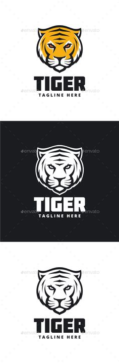 Tiger Logo — Photoshop PSD #media #graphic • Available here → https://graphicriver.net/item/tiger-logo/14469088?ref=pxcr