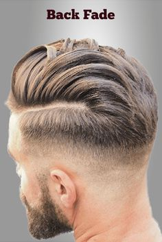 back fade hairstyles men