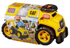 Toys For 2 yr Old Boys: Mega Bloks Ride On Caterpillar with Excavator