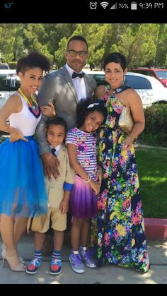 Beautiful fam.. easter outfits