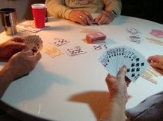 Sticks Card Game - a friend taught us this last night (so fun!) and it would make a great gift for a card playing family!