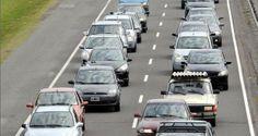 Más de 2300 autos por hora en la ruta 2 a la rumbo a la Costa