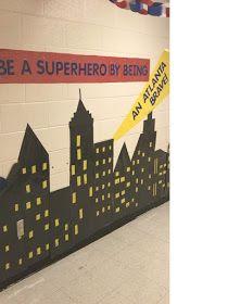 Δραστηριότητες, παιδαγωγικό και εποπτικό υλικό για το Νηπιαγωγείο & το Δημοτικό: 3 νέες ιδέες για διακόσμηση πόρτας Νηπιαγωγείου και επιπλέον χρήσιμες συνδέσεις Superhero, Home Decor, Decoration Home, Room Decor, Superheroes, Interior Decorating