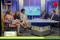 #Enfoca2 Conversatorio sobre #diainternacionaldelamujer con la presidenta del Círculo de Periodista de la Salud, Emilia Santos, la periodista Rosa Escoto y la dirigente reformista Rosa Domínguez