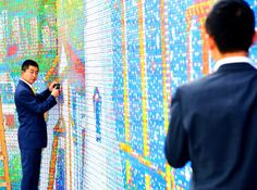 World's Largest Rubik's Cube Mosaic