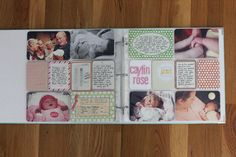 part 2 of @Kristina Proffitt 's amazing baby girl project life album