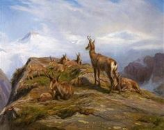 Title: Chamois Artist: Rosa Bonheur Completion Date: 1888 Style: Realism