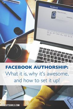 Social Media Tip | Facebook authorship is a great way to grow your following on Facebook. Click through for an easy, step-by-step tutorial to set it up for your blog.