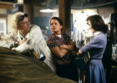 Back to the Future (1985) - Christopher Lloyd, Michael J. Fox & Lea Thompson