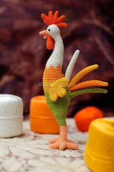 Crochet Rooster: SwEEt Inspiration!