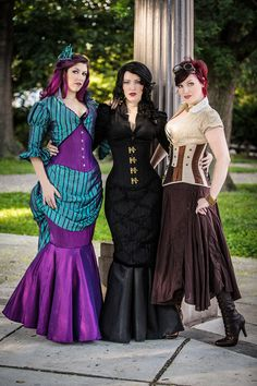 Try Steampunk Cosplay for Halloween!  Timeless Trends! Shop now -> https://www.timeless-trends.com/?pinterest