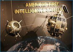 Photograph of Cold War: GRAB II Elint Satellite Exhibit, national Cryptologiv Museum, Maryland.
