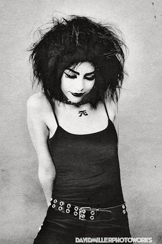 Lacheln as Death/ Siouxsie Sioux model 8x12 by JayStreetArtLab, $30.00