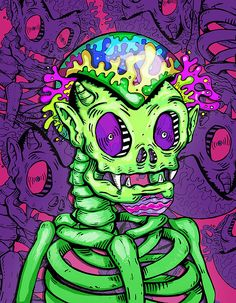 Skulls & Ficcion by Juan Manuel Agudelo Suarez
