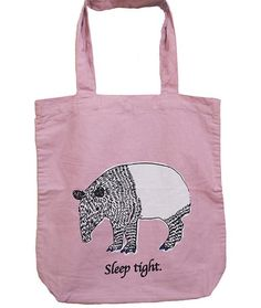 7db5b7768810 Pink Sleep Tight Tote Bag - Buy Online Printed Canvas Tote Bags -  GraceIndia.Style