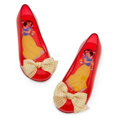 Snow White Flat Shoes for Girls   Shoes & Socks   Disney Store